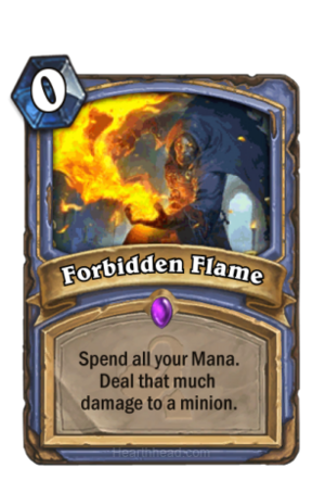 Forbidden Flame