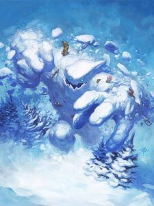 Snowfury Giant art