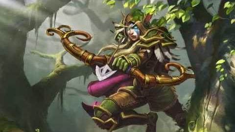 New Hearthstone Hero Alleria Windrunner