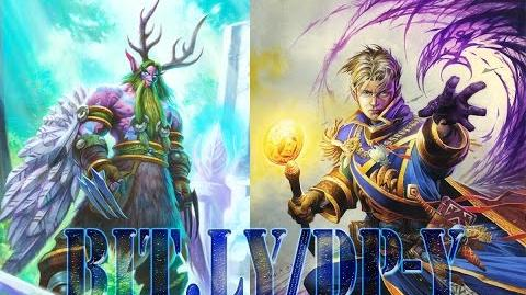 HEARTHSTONE Tavern Brawl Malfurion Stormrage VS Andruin Wrynn ( Druid VS Priest ) BinaryBrain