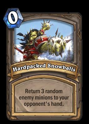 Hardpacked Snowballs