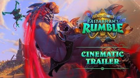 Rastakhan's Rumble Cinematic Trailer Hearthstone