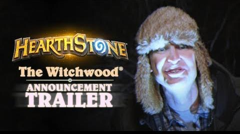 Hearthstone Announcing The Witchwood