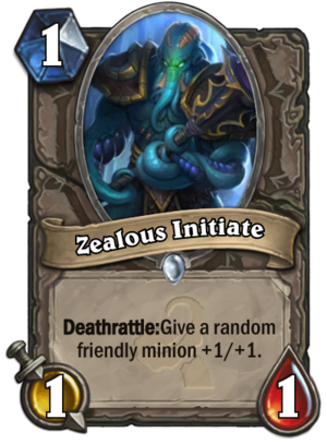 Zealous Initiate