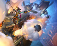Cannon Barrage art
