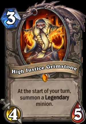 High Justice Grimstone