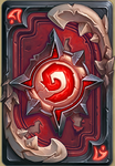 Blood Knight card back