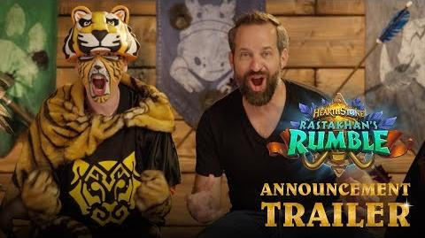 Rastakhan's Rumble Announcement Trailer Hearthstone