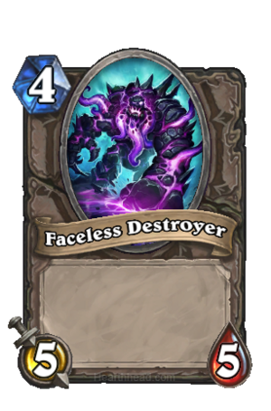Faceless Destroyer