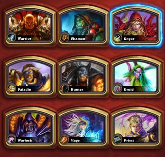 Hero Hearthstone Heroes Of Warcraft Wiki Fandom