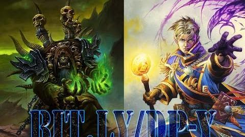 HEARTHSTONE Tavern Brawl Gul'dan VS Anduin Wrynn ( Warlock VS Priest ) felyria