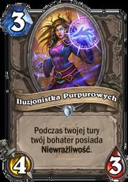 Iluzjonistka Purpurowych