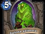 Zielona galareta