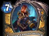 Lynessa, Lament Słońca
