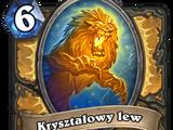 Kryształowy lew