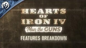 Hearts of Iron IV Man the Guns - Features Breakdown, ep.1
