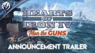 Hearts of Iron IV Man the Guns - Announcement Trailer
