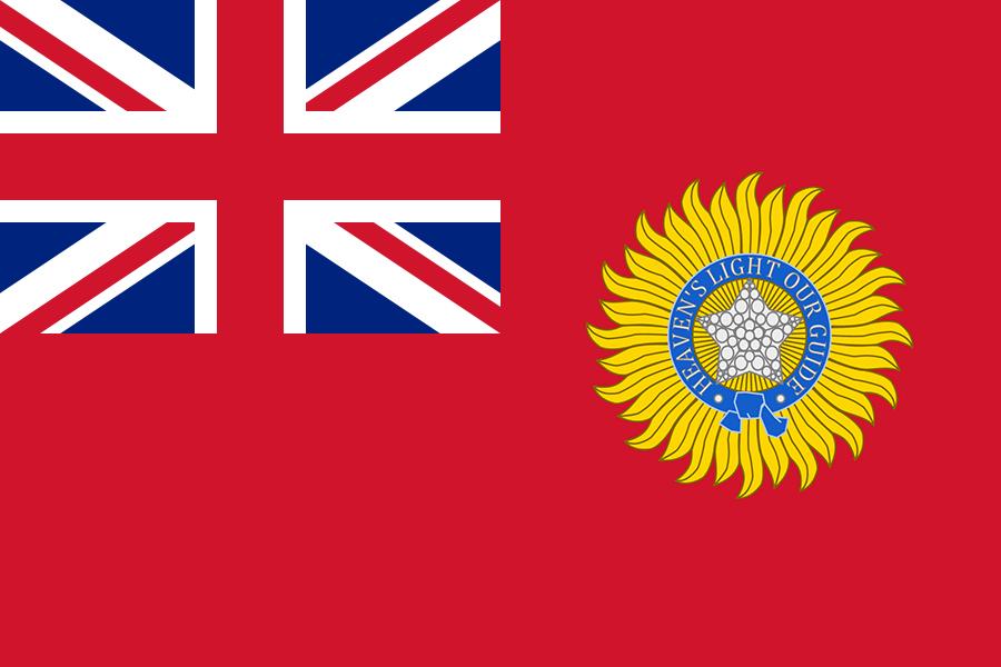 Flag of British Raj