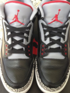 Jordan Cement 3s black