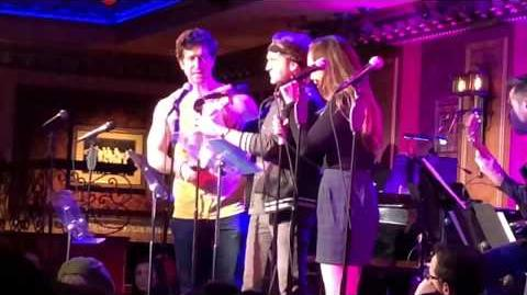 "File:54 Sings Heathers @ Feinstein's 54 Below ""You're Welcome"" Celeste Rose Dan DeLuca Evan Todd-1"