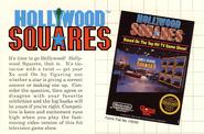 Hollywoos Squares 1989 Ad