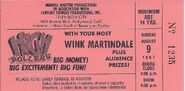 High Rollers 1987 Ticket