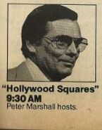 Hollywood Squares TV Guide Ad