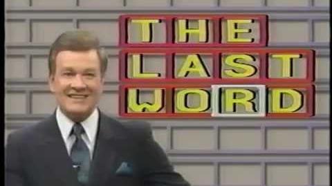 The Last Word promo reel 1, 1989