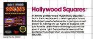 Hollywood Squares Gametek