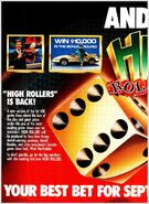 High Rollers '86 ad 2