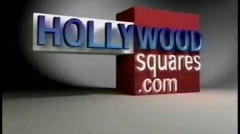 Hollywood Squares website plug, 2002
