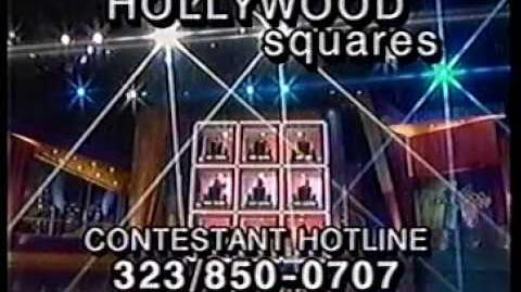 Hollywood Squares contestant plug, 1998