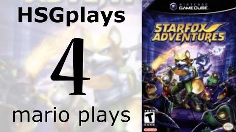 """HSGplays"" Mario Plays - Star Fox Adventures - Thorntail Hollow 2 Ice Mountain 1 Part 4"