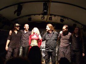 Leaves Eyes at Henkersfest Stuttgart July 2007