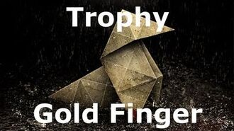 Heavy Rain- Gold Finger (Bronze)