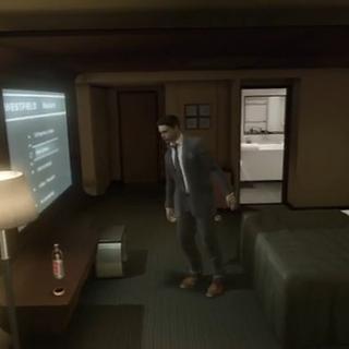 <i>Im Hotelzimmer</i>