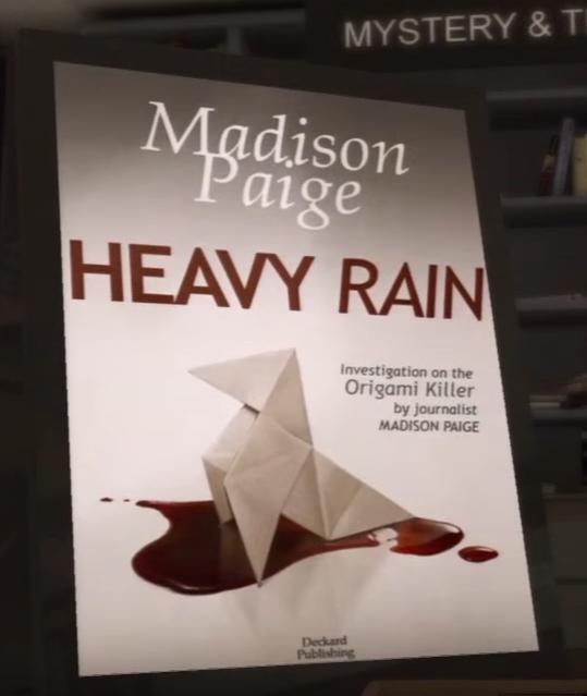 Heavy Rain Book Heavy Rain Wiki Fandom Powered By Wikia