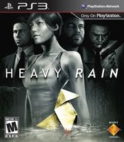 Heavy Rain Box Art (North American)