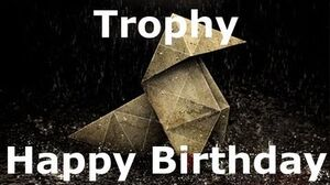 Heavy Rain- Happy Birthday (Bronze)
