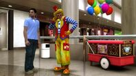 Ethan and clown