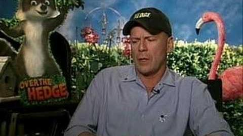 Over The Hedge Bruce Willis Interview (english)