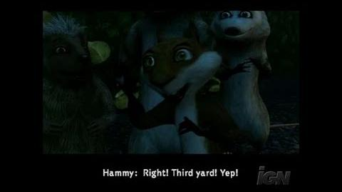 Over the Hedge GameCube Gameplay - Voice Alikes. Not too
