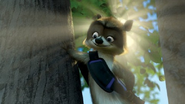 Over the Hedge RJ in a Tree