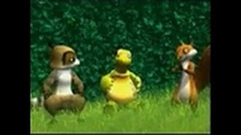 Over the Hedge Nintendo DS Gameplay-Cinematic - FMV cutscene