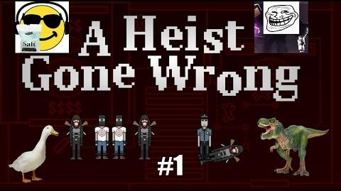 The Beginning A Heist Gone Wrong 1