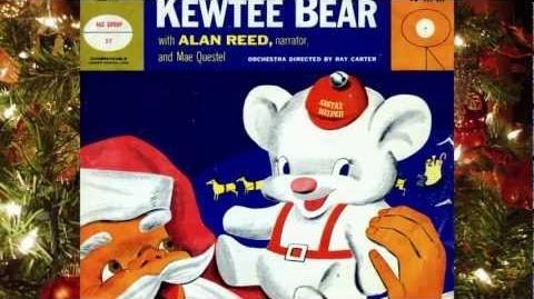 The Story Of Santa's Kewtee Bear