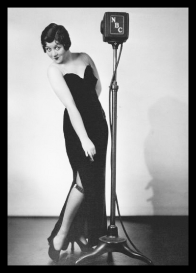 Mae Questel the voice of Betty Boop and Olive Oyl Helen Kane impersonator
