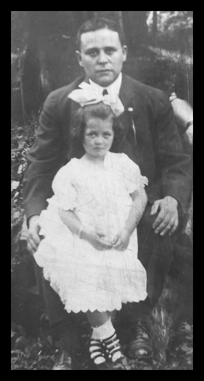 Mae Questel and her father Simon Kwestel