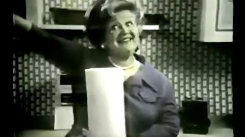 Scott Towels Commercial (Mae Questel, 1974)