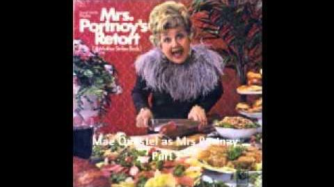 Mae Questel as Mrs Portnoy - Part 1